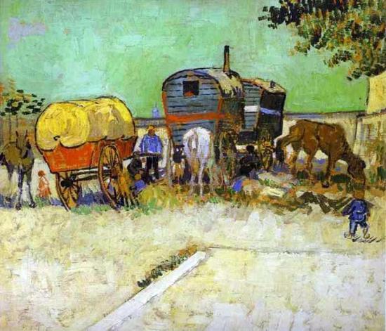 van gogh gypsies