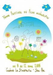 Affiche 7ème festival Rhônalpin (2008)