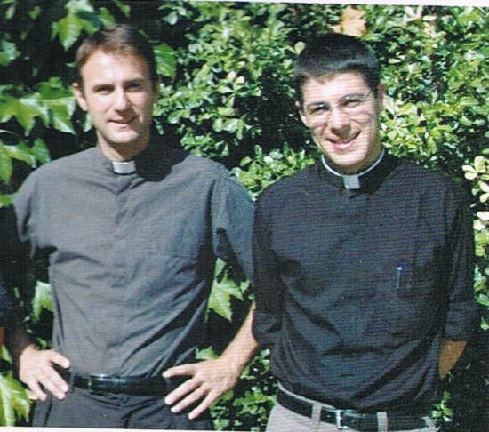 Père Samuel Vigot 37 ans et le père Jean Baptiste Buchet 33 ans