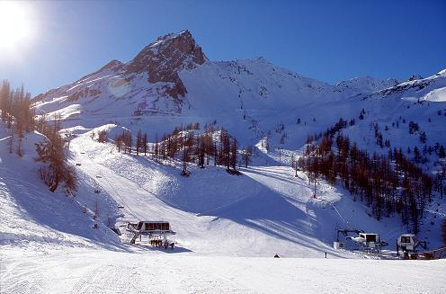 Skier à Serre-Chevalier