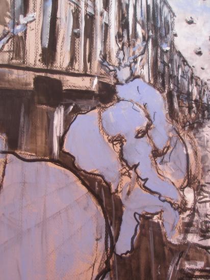Rue Sainte-Catherine 2. Bordeaux. 2011. Format 60X80. Détail.