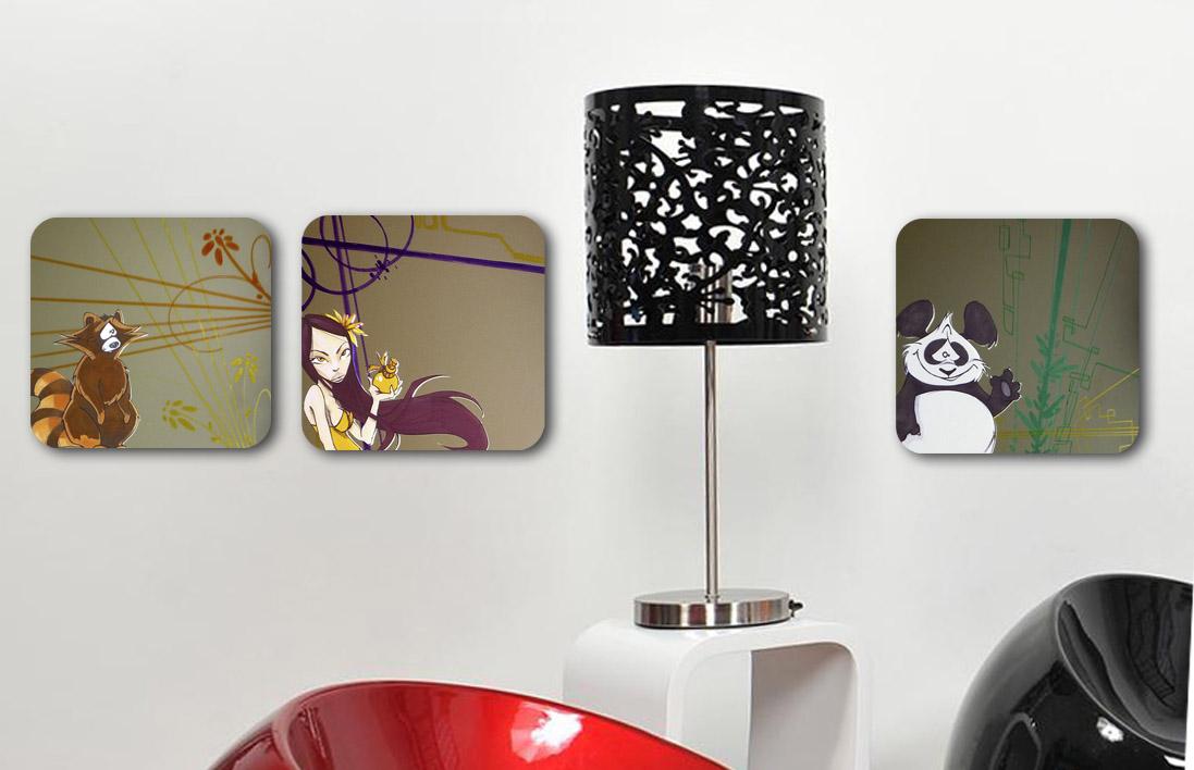 les accessoires d co. Black Bedroom Furniture Sets. Home Design Ideas
