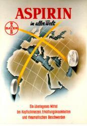 Publicité aspirine Allemagne