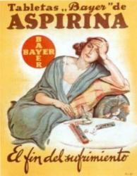Publicité aspirine Espagne