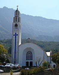 Eglise Notre Dame des Neiges à Cilaos