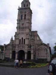 L'église de Sainte-Anne dans laquelle fut tournée la scène du mariage du film La Sirène du Mississipi en 1969