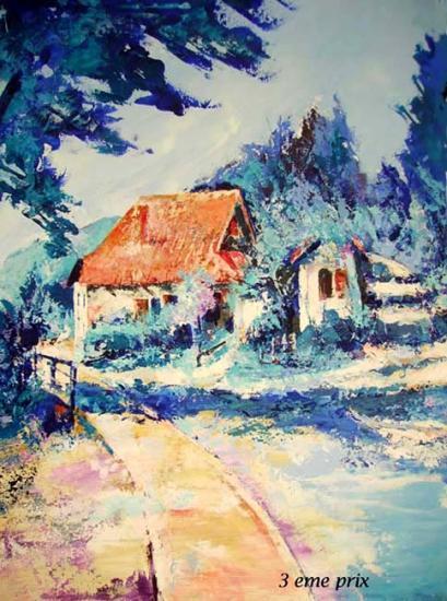 peindre sur le motif 2009