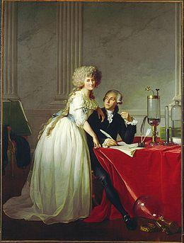 Portrait d'Antoine Laurent de Lavoisier et de sa femme, David, 1788, Metropolitan Museum Of Art, New-York