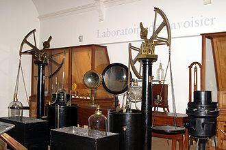 Laboratoire d'Antoine Lavoisier au Musée des arts et métiers