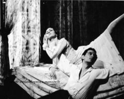 avec Jacqueline Rayet dans Roméo et Juliette