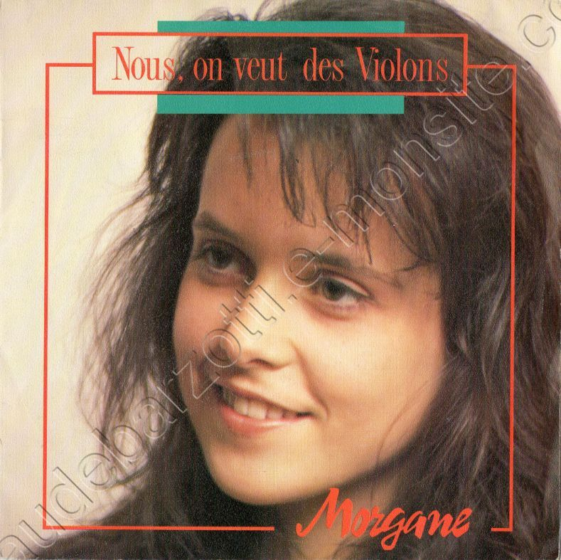 "45 tours Morgane face A ""nous on veut des violons"" faceB ""instrumental"""
