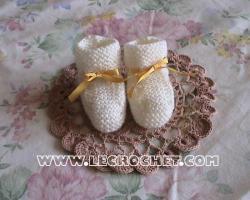 tricoter des chaussons
