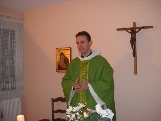 Père Samuel Vigot curé de la Paroisse