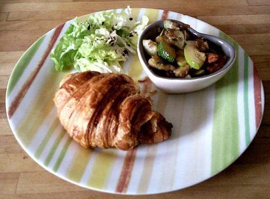Croissant au Roquefort
