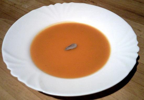 Soupes à la courge muscadée