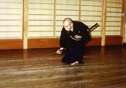 Okada Sensei, Hanshi 8ème Dan