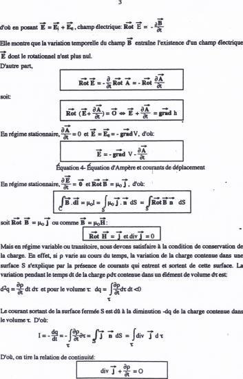 Texte équations de Maxwell 3