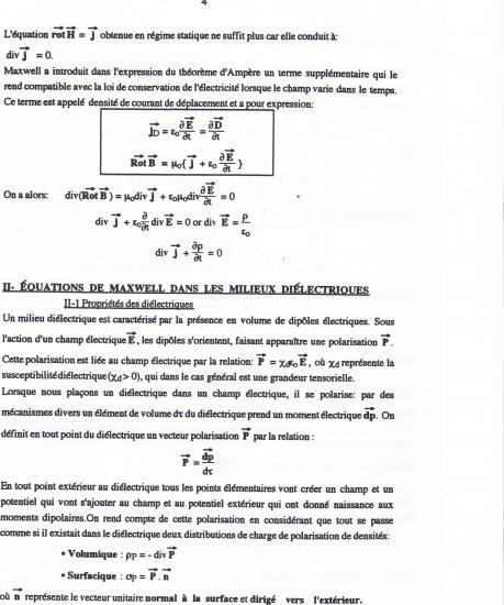 Texte équations de Maxwell 4