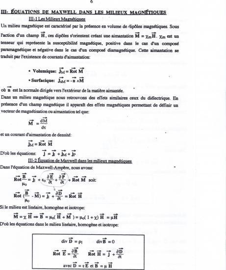 Texte équations de Maxwell 6