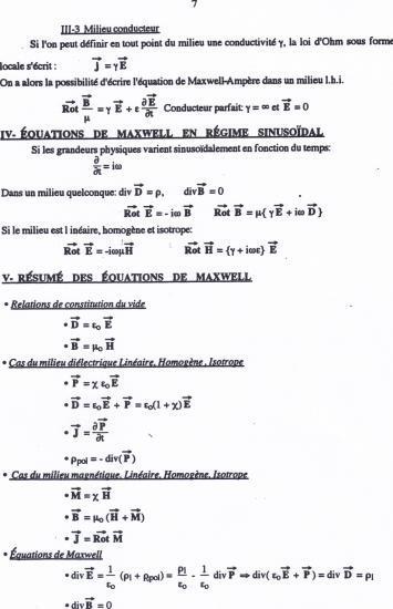 Texte équations de Maxwell 7