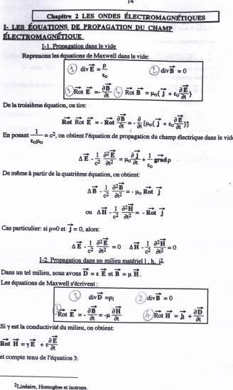 Texte Ondes Électromagnétiques 1