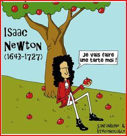newton-pomme
