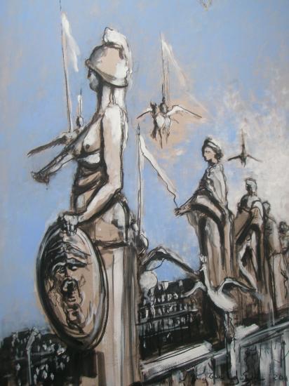 Muses et déesses. Bordeaux. 2011. format 60 x 80