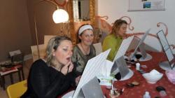 Cecile, Delphine et Francine