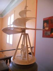 Hélice volante