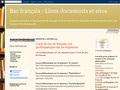 Répertoire de liens en français