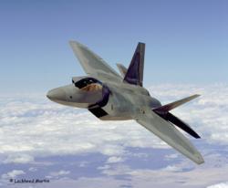 F22 l'avion de chasse moderne américain