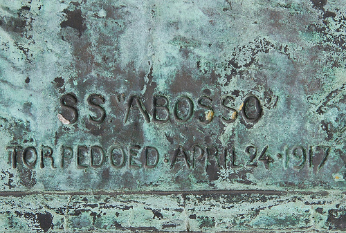 The SS Abosso. A memorial