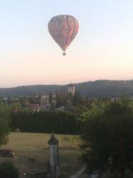 Montgolfière à Puy l'Evêque