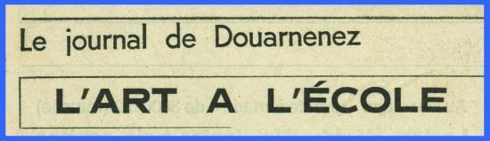 (Coupure de presse 1972) Ateliers populaires.