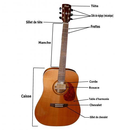 guitare acoustique definition
