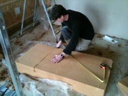 Découpage fibre de bois