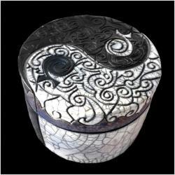 Yin & Yang ciselée