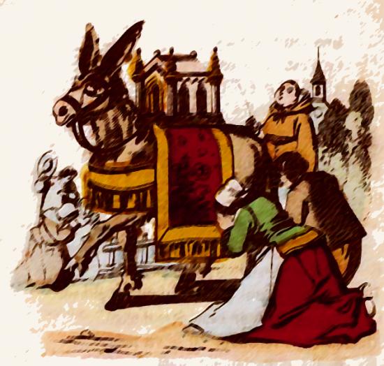 """""""L'Ane portant des reliques"""""""