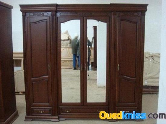 Chambre a coucher en h tre existe en 4 5 et 6 portes for Chambre a coucher en algerie