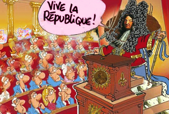 &quot;Vive la R&eacute;publique !&quot; d'apr&egrave;s Chaun