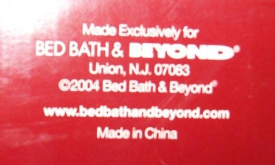 BED BATH & BEYOND.