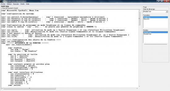 Logiciel : Microsf01 Cpcdos OS1