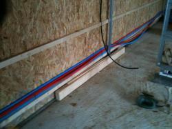 Pose réseaux eau et électricité