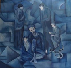Composition période bleue