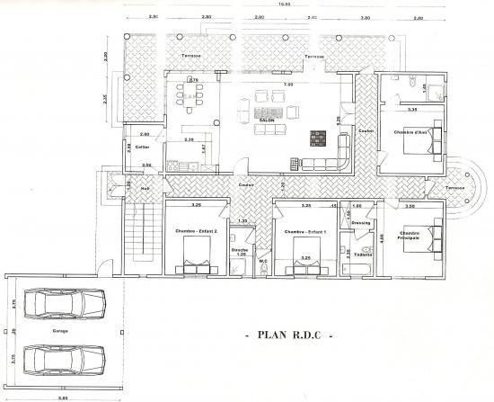 plan maison mali