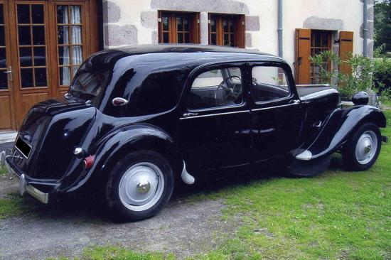 citroen traction 11 b 1956