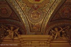 Détail du Palais Garnier, details of the Opera House in Paris, the Garnier Palace, Esprit de Paris - private guide