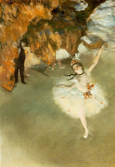 Ballet, l'Etoile 1876 Edgar DEGAS, Esprit de Paris - private guide