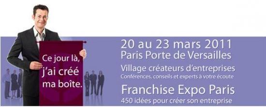 Franchise Expo à Porte de Versailles