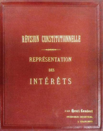Révision constitutionnelle (couverture)